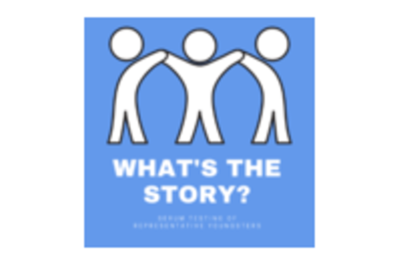 Whats The STORY logo